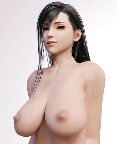Tifa Lockhart - 3D Compilation