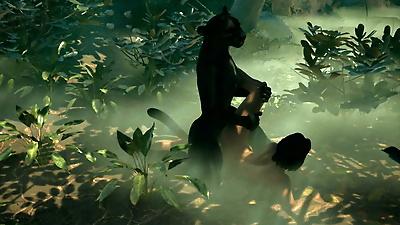Lesbian Explorer- The Jungle..
