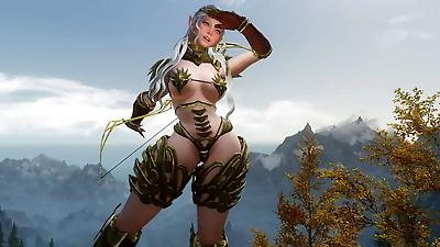animated Skyrim BAD END:..