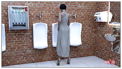 MYA3DX Public toilet sets