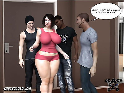 Crazy Dad Foster Mother 10 -..