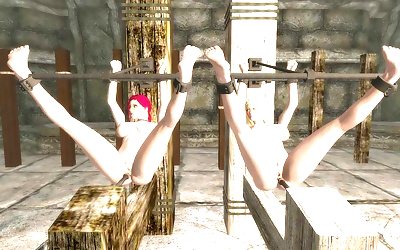 Skyrim bondage furniture..