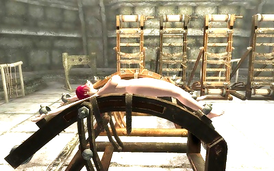 Skyrim bondage furniture..