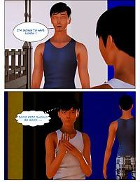 Body Transfer Side Story - A Week-end with Chris - part 18