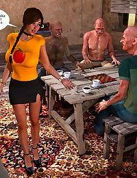 Lost Bet - Petra Helps The Elderly
