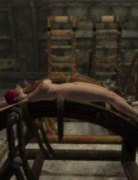 Skyrim bondage furniture collection - part 4