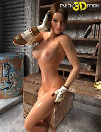 She strips and her body is out of this world - part 531