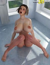 Perfect slutty babe with big tits - part 4