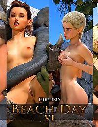 Hibbli3D- Beach Day 6