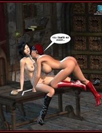 Kinky bondage and action comics - part 3