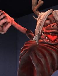 退魔士日記-「地獄の凌辱劇」 - part 2