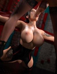 3DSimon My StepMom Is A DickGirl 3: The Kinky Room