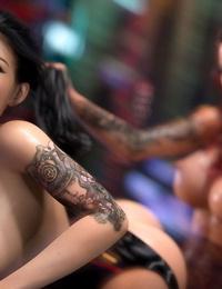 3DSimon My StepMom Is A DickGirl 3: The Kinky Room - part 4
