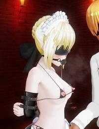 汁 セクハラクソマスターに仕えているメイドオルタ Fate/Grand Order - part 3