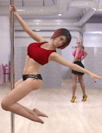 Pat Pole Dancers 1 - part 3