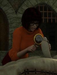 Zafo Velma Halloween Scooby-Doo