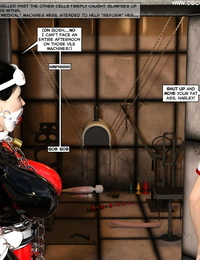 DBComix New Arkham For Superheroines 1 - Humiliation and Degradation of Power Girl Complete