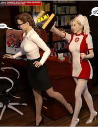 DBComix New Arkham For Superheroines 1 2nd Edition - Humiliation and Degradation of Power Girl - part 5