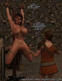 Amazons-vs-Monsters Close Allies - part 2