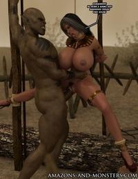 Amazons-vs-Monsters Close Allies - part 6