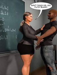 Crazy Dad 3D Spank꧇ Teacher Marilia English - part 3