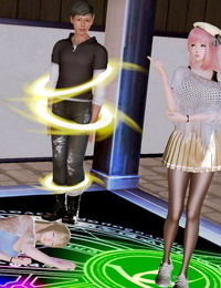 Magical Angel in Pantyhose 魔法天使的絲襪事 Chapter 2 - Raping Pregnant inside a Slime..