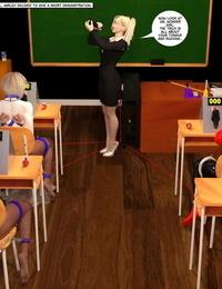 DBComix New Arkham For Superheroines 3 - Back to School