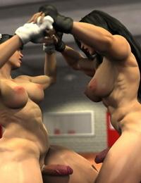 Squarepeg3D Arm Day vs Leg Day - part 2